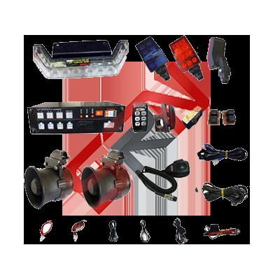MOTOSİKLET PHOENIX-MTC-SLC-2 SİREN ANONS VE LED IŞIK SİSTEMİ-3